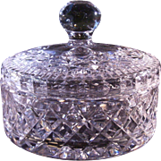 Waterford Lismore lidded candy dish