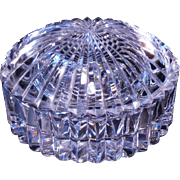 Waterford Crystal Lidded trinket box