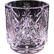 Christmas Waterford crystal tumbler