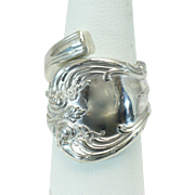 "Vintage Sterling Spoon ring ""Old Master"" by Towle"