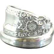 Sterling Spoon ring Prelude by International Sterling