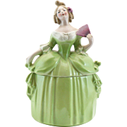 Large Green Dresser Doll E&R Madame Pompadour Germany