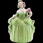 Large Green Dresser Doll E&R Madame Pompadour Germany