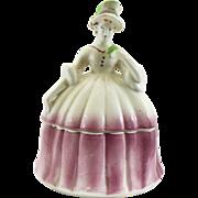 Vintage porcelain dresser doll