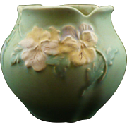 Weller green Panella vase - Red Tag Sale Item