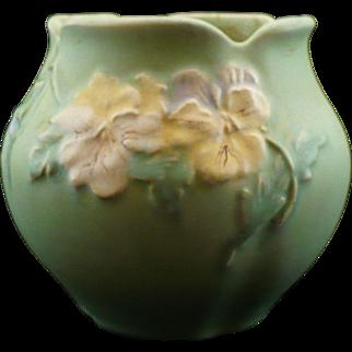 Weller green Panella vase