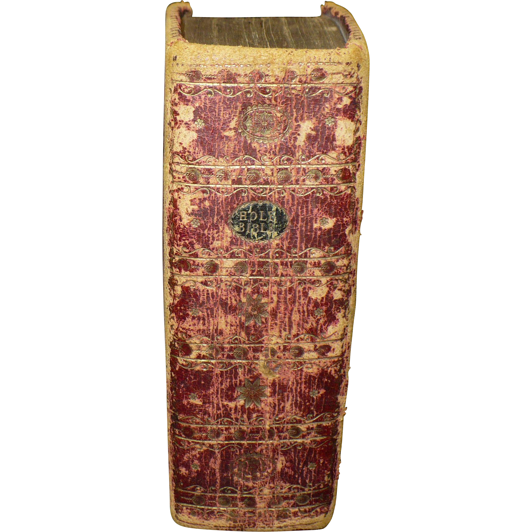 """Antique 1795 KJB Bible """"Appointed to be read in church"""""""