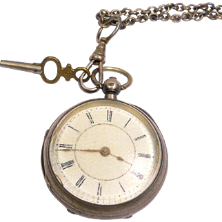 Antique Sterling Pocket Watch