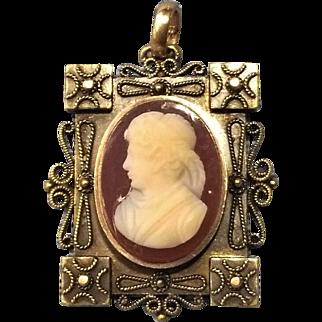 Victorian Hardstone Cameo