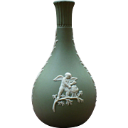 Vintage Wedgwood sage green bud vase