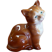 Vintage Beswick pottery Orange cat figurine