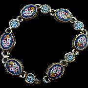 Vintage Millefiore bracelet