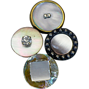 Vintage Fancy Mother of pearl buttons