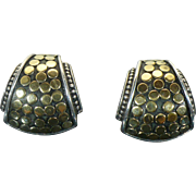 Vintage retired John Hardy Dot Earrings