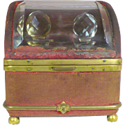 Antique Travel perfume casket circa 1840