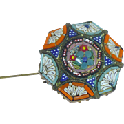 Micro Mosaic Brooch Made in italy