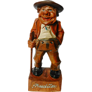 Italian Anri Wood Carved Figurine