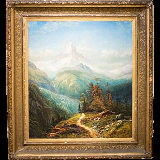 Magnificient Edmund Darch Lewis (1835-1910) oil painting