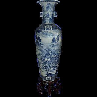Gigantic Pair of Chinese Vases