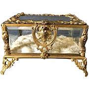 Exquisite French 19th C Jewelry Box Circa 1890s