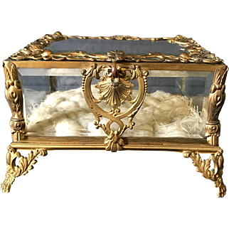 Exquisite French 19th C Jewelry Box Circa 1890s