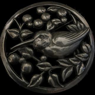 Coro Bird Pin Circa 1940s