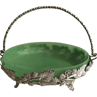 Antique Sweet Bride's Basket Circa 1900-1920