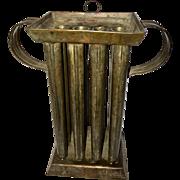 19th Century 12-Candle Tin Mold, Circa 1850s-1870s