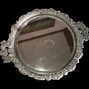 Sheffield Victorian Plateau Mirror circa 1870's-1880's