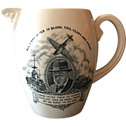 Churchill Copeland Spode Commemorative Pitcher