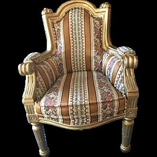 "Louis XVI Style 19"" Chair, Possible Salesman Sample"