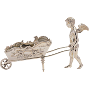 English Victorian Silver Cherub