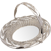Victorian Silver Plated Bread Basket