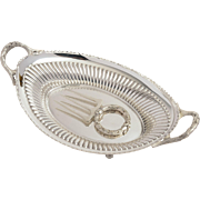 Edwardian Silver Plated Bread Basket made by Walker & Hall