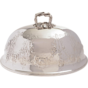 Elkington Silver Plated Meat Dome, 1868