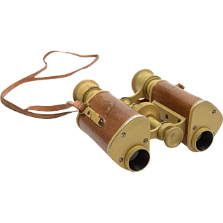 A Pair of WWII German Field Glasses, Circa 1939-1945