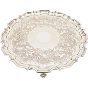 Large Sheffield Plated Salver, Circa 1840