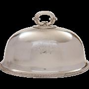 Royal 9th Lancers Meat Dome, Elkington 1881