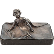 WMF Cupid Paperweight, Circa 1900