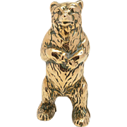 Brass Bear Money Box, Circa 1920