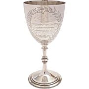 Victorian Putney to Hammersmith Boat Race Trophy, Circa 1881