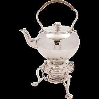Victorian Bachelors Tea Kettle, Circa 1890