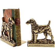 Edwardian Brass Bookends, Circa 1910
