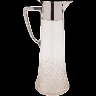 Silver Plated WMF Claret Jug, Circa 1900