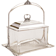 WMF Biscuit Box/Cookie Jar, Circa 1910