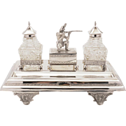 Victorian Ink Stand, Circa 1880