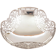 George V Silver Dish, Sheffield 1915