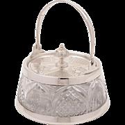 Victorian Preserve Pot, Circa 1890