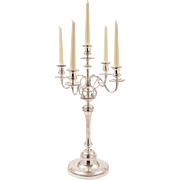 Large Christofle Candelabra, Circa 1900