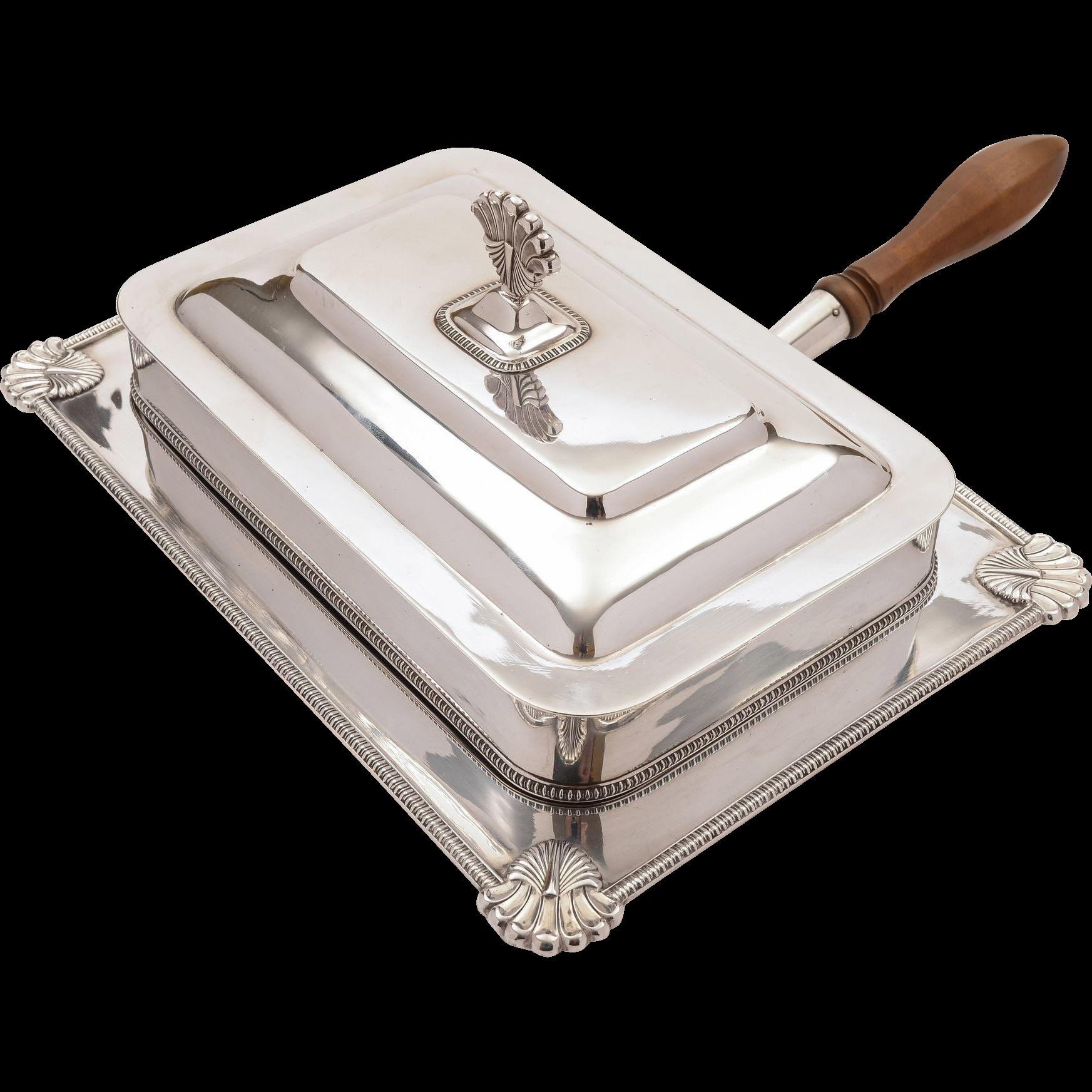 Edwardian Silver Plated Serving Dish, Circa 1905